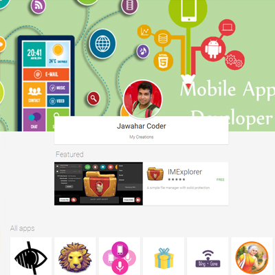 Playstore - Jawahar Coder